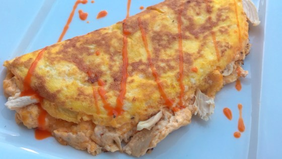 Photo of Keto Buffalo Chicken Omelette by thedailygourmet