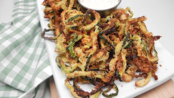 Photo of Air Fryer Zucchini Curly Fries by Soup Loving Nicole