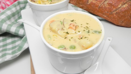 Photo of Vegetable Cheese Soup II by JARRELL