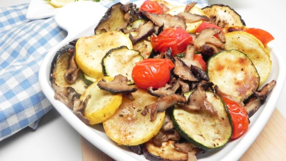 Photo of Air-Fried Mediterranean Vegetable Medley by Allrecipes