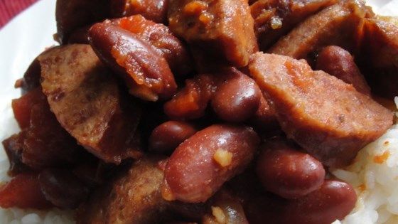 Photo of Smoked Sausage and Red Beans by Syndi Davis