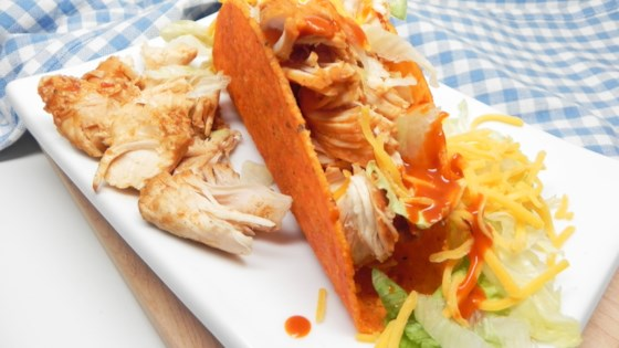 Photo of Easy Slow Cooker Chicken Tacos by Lilliansmommy