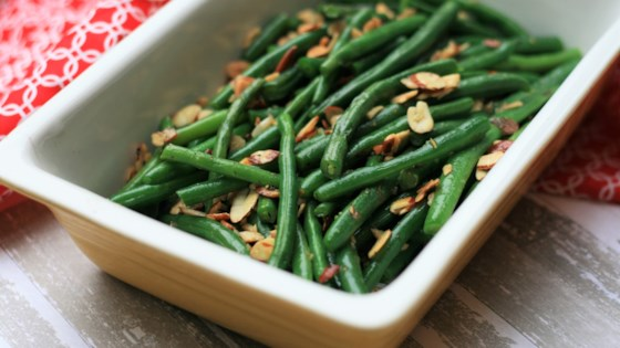 Photo of Green Beans Almondine  by judilicious