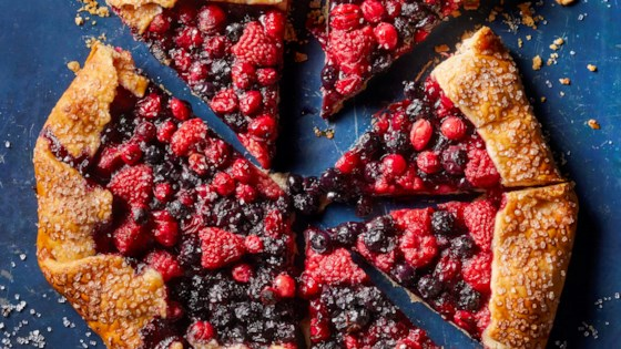 Photo of Bumbleberry Galette by MrsWheelbarrow