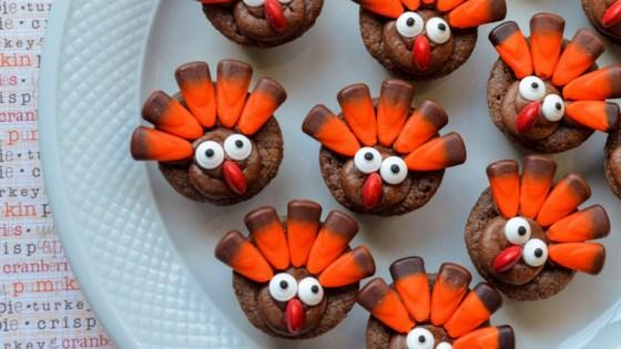 Photo of Mini Brownie Turkeys by Kim's Cooking Now