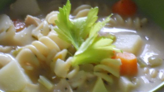 Photo of Classic Chicken Noodle Soup by USA WEEKEND columnist Pam Anderson