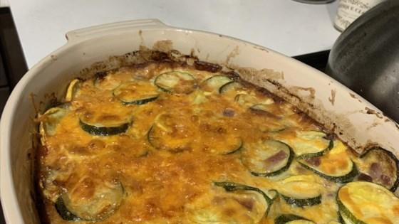 Photo of Squash, Egg, and Cheese Casserole by jayceeboyer