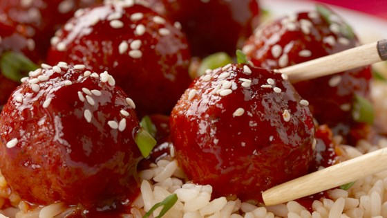"Photo of Korean BBQ ""Meatballs"" by Pure Farmland"