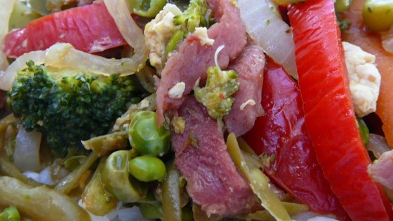 Photo of Leftover Ham and Vegetable Medley by RUTH BEITEL 1