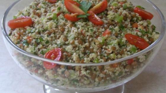Photo of Lentil Bulgur Salad by Laura  Bryant German