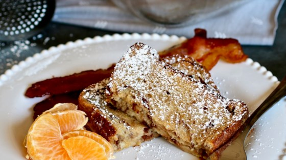 Photo of Cinnamon Roll French Toast Casserole  by amber