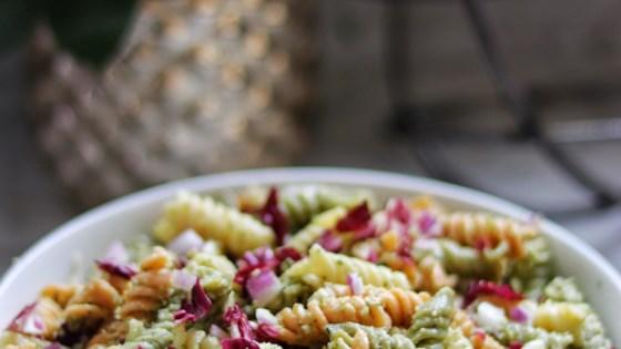 Photo of Maya's Perfect Pesto Pasta Salad by mpkneip