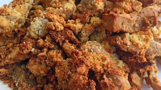 "Photo of Air Fried Vegetarian ""Chicken Tenders"" by Chef Wheeler del Torro"
