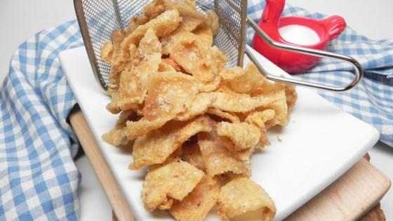 Photo of Crispy Fried Chicken Skin by Soup Loving Nicole