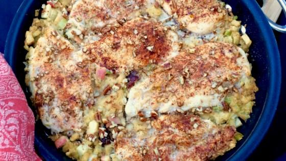 Photo of Chicken and Apple Stuffing Casserole by Bibi