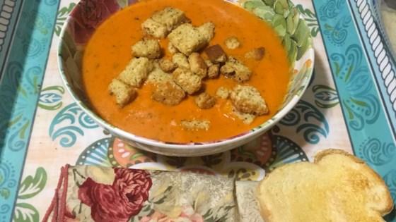 Photo of Tomato Basil Soup by Sara
