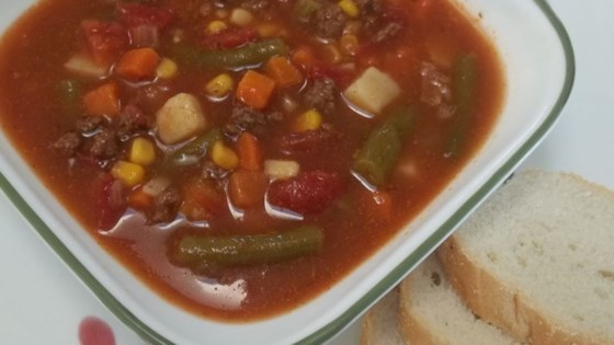 Awesome Beef Vegetable Soup