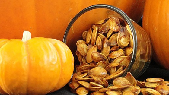 Photo of Sweet and Spicy Pumpkin Seeds by lotus petal