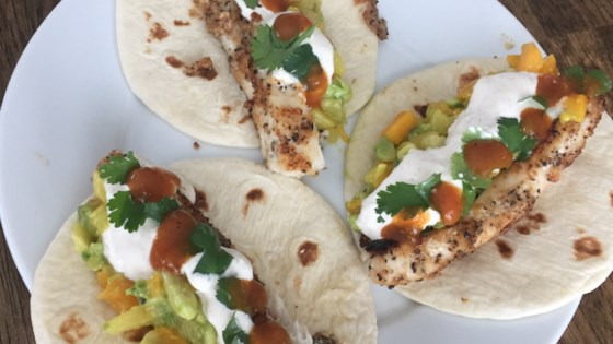 Photo of Soft Mahi Mahi Tacos with Ginger-Lime Dressing by Fiestaqueen