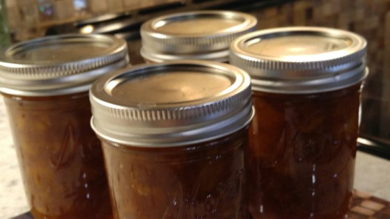 Photo of Fresh Spiced Peach Jam by MISSKD2