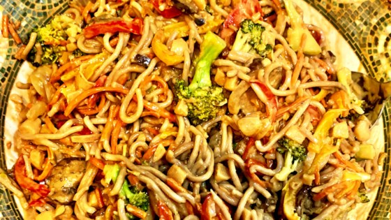 Photo of Amazing Peanut Soba Noodles by Tarrin