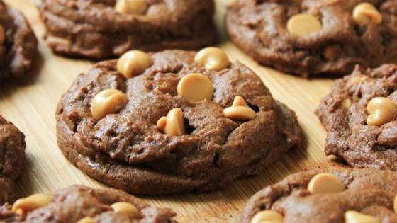 Photo of Peanut Butter Chip Chocolate Cookies by Michelle Laverdiere