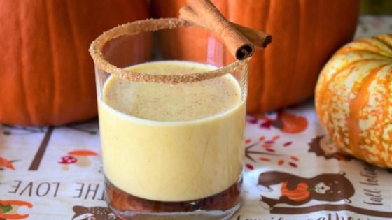 Photo of Bourbon-Pumpkin Milk Punch by Drast