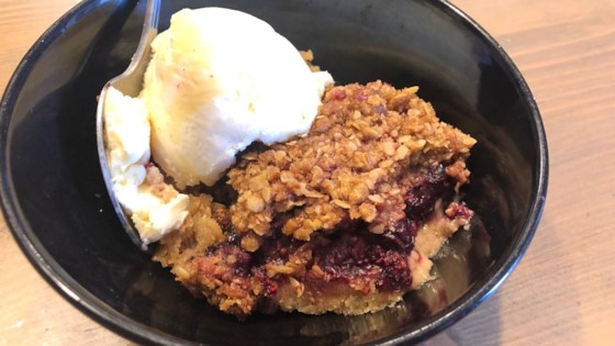 Photo of Mixed Berry Crisp by Rebecca