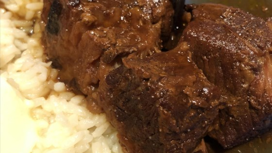 Photo of Slow Cooker BBQ Beef Brisket by Christina Tabaretti