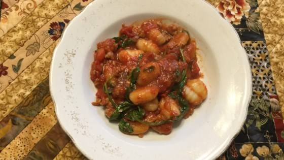 Photo of Italian Sausage and Gnocchi Skillet by Bren