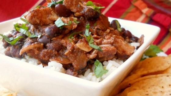 Photo of Jerre's Black Bean and Pork Tenderloin Slow Cooker Chili by Sally Renz Cummings