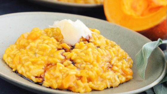 Photo of Roasted Pumpkin and Sage Risotto by debbie eckstein