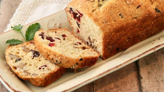 Photo of Apple Cider-Cranberry Bread by StickySue