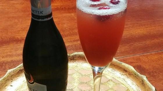 Photo of Cranberry-Pomegranate Mimosa by Melinda