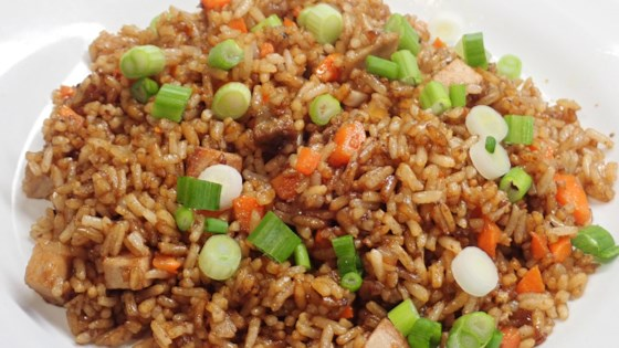 quick pork fried rice review by cj