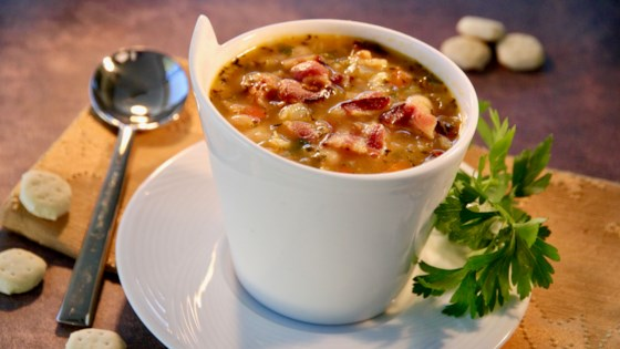 bean bacon and pepper soup review by babzil