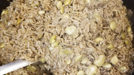 Photo of Diri ak Djon Djon (Haitian Black Mushroom Rice) by Calixtes Bon Vivre