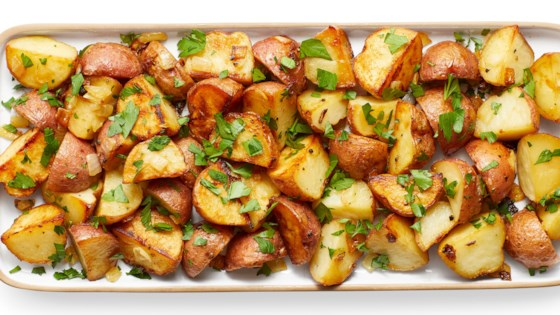 Photo of Honey-Roasted Red Potatoes by luv2golfandcook