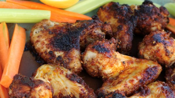 Photo of Harissa and Lemon-Pepper Wings by Buckwheat Queen