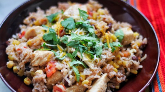 Photo of Instant Pot® Mexican Chicken and Rice Bowls by fabeverydayblog