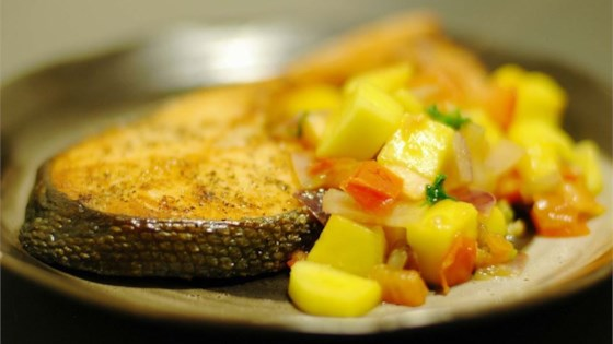 Photo of Mango Salsa Salmon by KASIAN