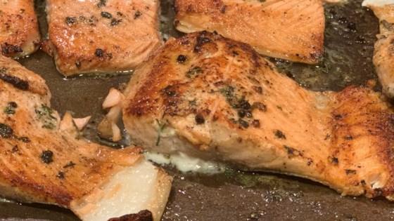 Photo of Easy Lemon-Pepper Blackened Salmon by CHELSEA713