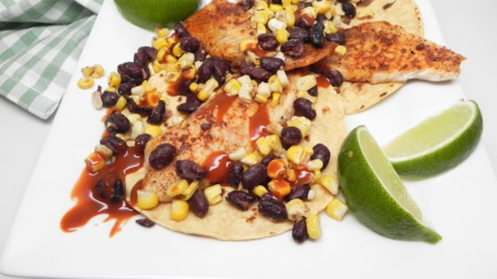 Photo of Air Fryer Blackened Fish Tacos by Soup Loving Nicole