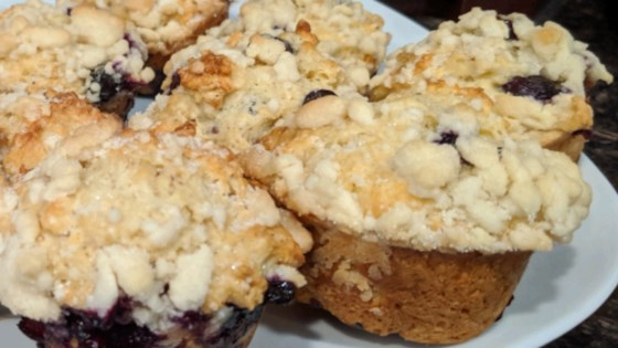Photo of Blueberry Streusel Muffins with Yogurt by Diane Segal Teel