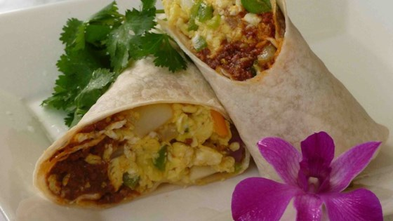 Photo of Chorizo Breakfast Burritos by BARB75