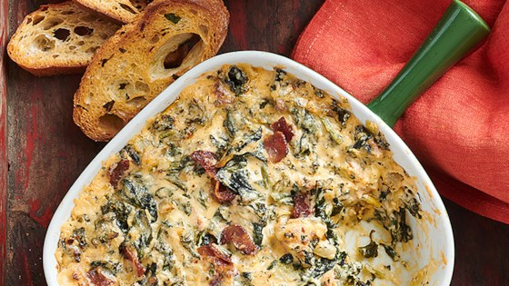 Photo of Spinach Kale Bacon Dip by 14 Hands Winery
