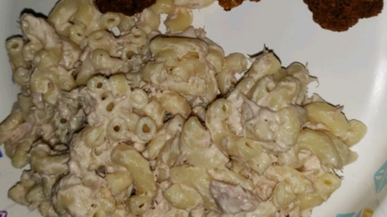 Photo of Macaroni and Tuna Fish Salad by DAJUICEMANCE