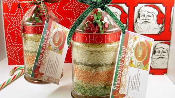 Photo of Friendship Soup Mix in a Jar by Bea Gassman