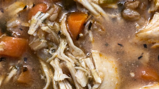Photo of Instant Pot® Chicken and Farro Soup by Bren