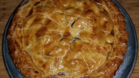 Photo of Little Ann's Peach and Blueberry Pie by McLellan's